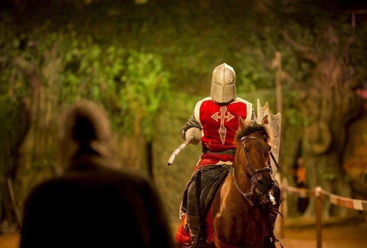 Dinner-show 'desafío medieval' medieval challenge dinner-show alfaz del pi